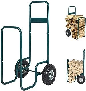 Best wheeled log cart Reviews