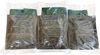 2018 Pack Date/2024 Best By Date-MRE Pizza Meal Kits (ENTREE ONLY with Utensil and Heater) (3 Pack)