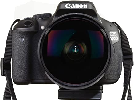 Kelda 8mm F/3.5 Aspherical Circular Ultra Wide Angle Fisheye Prime Lens for Canon EOS