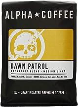 Alpha Coffee - Dawn Patrol - 16 oz. Premium Gourmet Craft Light Roast Drip Grind Coffee | Veteran Owned - Specialty Small ...