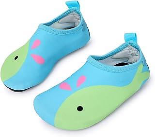 L-RUN Kids Wading Shoes Boys Girls Barefoot Swim Shoes...
