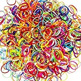 (5000 PIEZAS) de goma elástica multicolor para mujer niña y bebe | bandas resistente para todo tipo de peinados