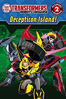 Transformers Robots in Disguise: Decepticon Island! (Passport to Reading Level 2)