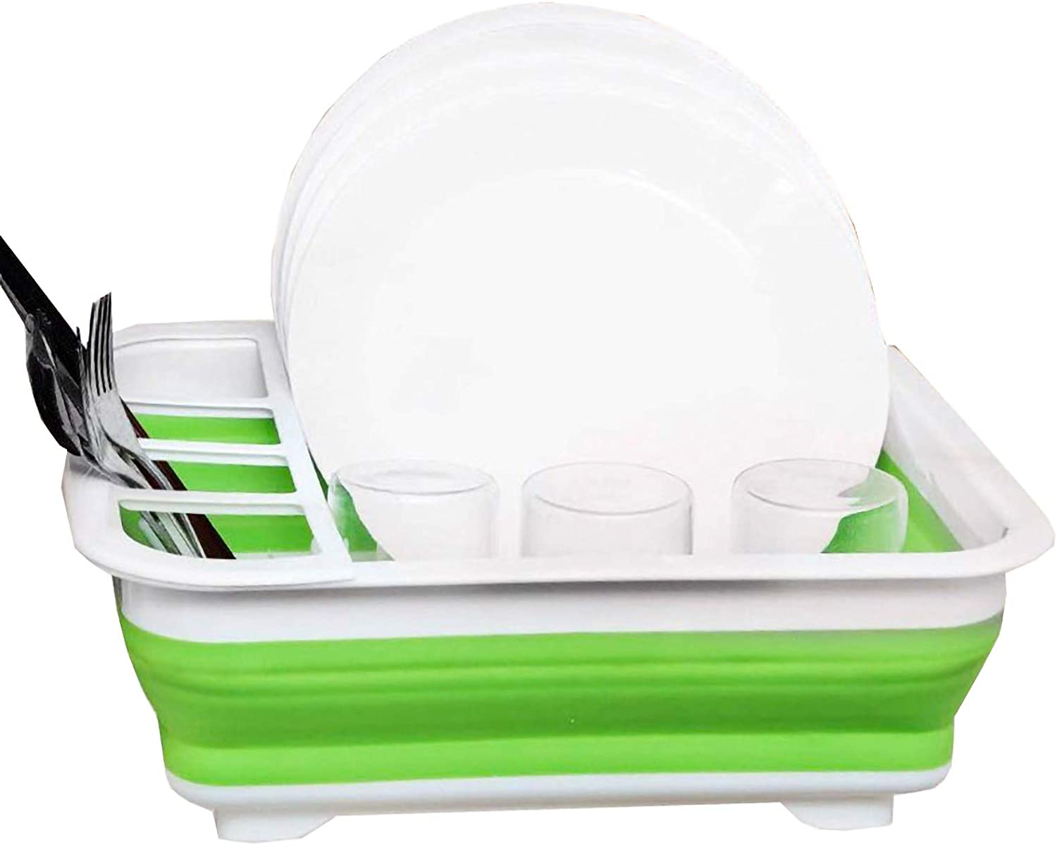 Collapsible Fashionable Dish Rack Foldable Dr Drying Portable Denver Mall