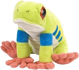 Wild Republic Red-Eyed Tree Frog Plush, Stuffed Animal, Plush Toy, Gifts for Kids, Cuddlekins 12 Inches