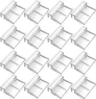 transparentes soporte universal para cristal de 5 a 6 mm CHENKEE Clips para tapa de cristal de acuario 26 unidades soporte para tapa de acuario clips multifuncionales