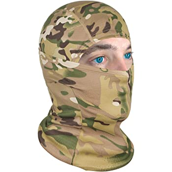 Achiou Balaclava Face Mask UV Protection for Men Women Sun Hood Tactical Cool