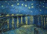 Vincent Van Gogh Starry Night Over The Rhone –