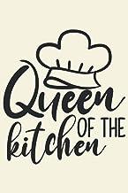Queen of the kitchen My Favorite Recipes: Blank Recipe Book Journal   Personalized Recipe Book   Blank Recipe Organizer Fo...