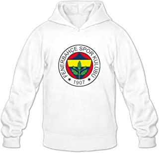 Geheimnis Gross Men's Fenerbahce SK Hoodies Sweatshirt Size US White