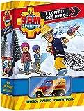 Sam Le Pompier-Coffret: Le Grand Incendie de PontyPandy + Les héros de la tempête [+ 1 Camion]