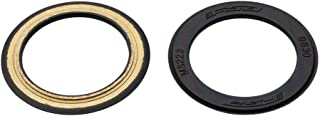 FSA BB30 Bearing Covers Black Rubber Coated Pair