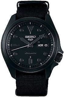 Seiko Sport 5 Facelift Automatic Nylon Strap Black Watch SRPE69K1