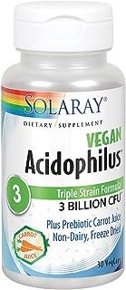 Solaray Acidófilos - 30 Cápsulas