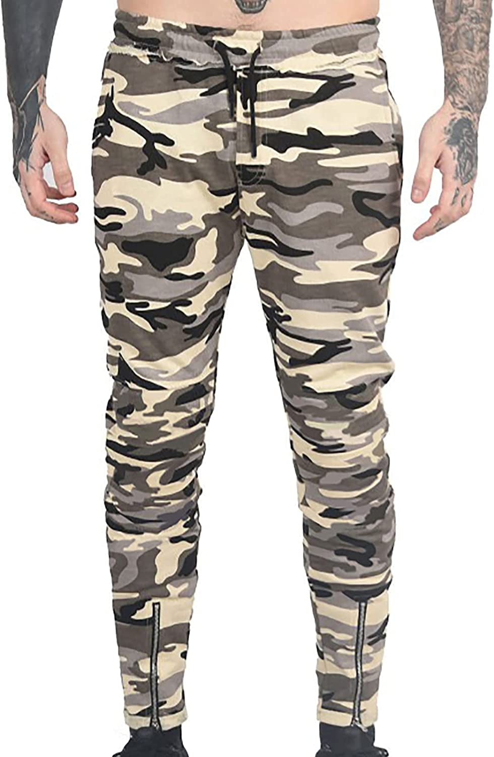 Sinzelimin Jogger Pants for Casual Sport Selling and selling Camouflage Men's Max 58% OFF