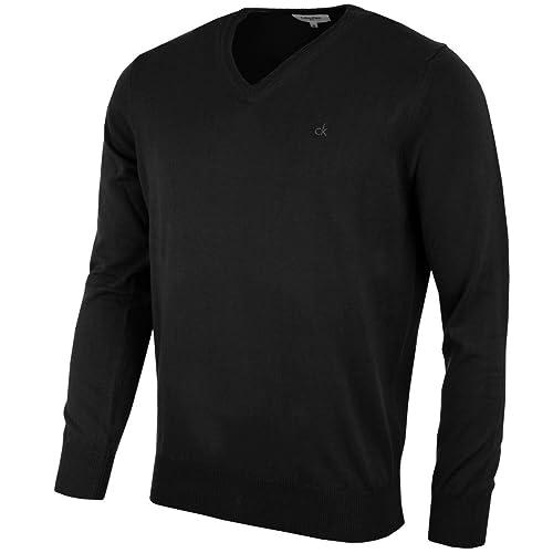668c05a08e11 Calvin Klein Golf Mens CK V Neck Sweater