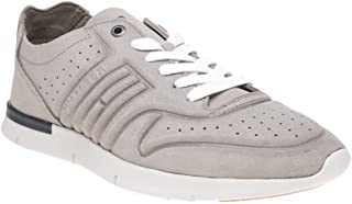 Tommy Hilfiger Unlined Light Suede Runner Trainers