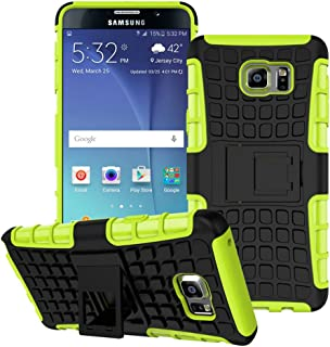 Note 5 Case,Samsung Galaxy Note 5 Case,EMAXELER Creative Hybrid Case for Samsung Galaxy Note 5,Heavy Duty Rugged Dual Layer Case with kickstand for Samsung Galaxy Note 5 Tyre Green by EMAXELER