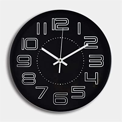 Amazon Com Seiko Wall Clock Silver Tone Metallic Case