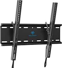 PERLESMITH Tilting TV Wall Mount Bracket Low Profile for Most 23-55 inch LED, LCD, OLED, Plasma Flat Screen TVs with VESA ...