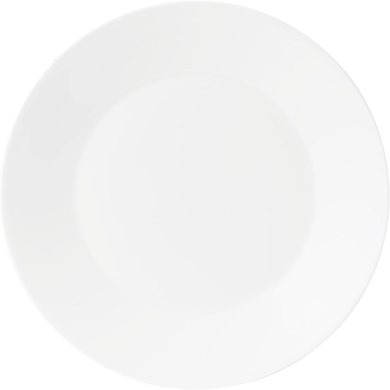 Jasper Conran by Wedgwood White San Diego Mall Bone Plain Rapid rise Plate China 11 Dinner