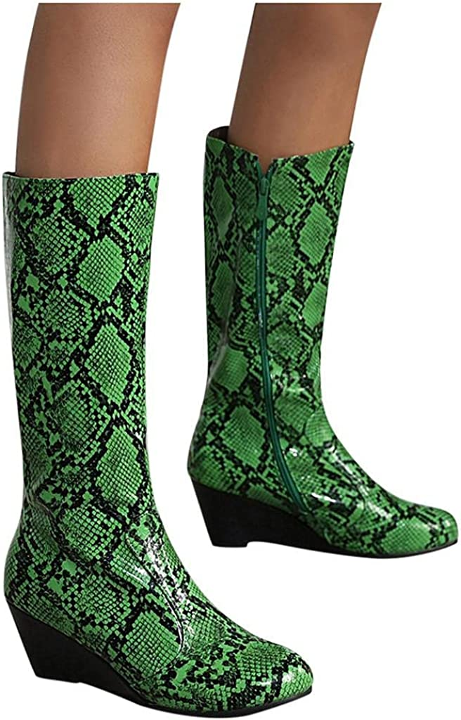 Niceast Boots for Women Fashion Comfo Up Cowboy Womens Max 61% Omaha Mall OFF Zip