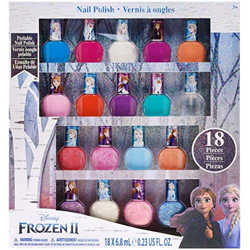 Townley Girl Frozen Non-Toxic 18 Piece Peel Off Nail Polish Set