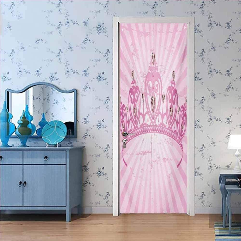 GSKBDQ 3D Door Stickers PVC Mural Adhesive Dec Wall Self All items in the Japan's largest assortment store Sticker