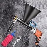 Vogvigo 700W pistola de pulverización de mortero de cemento eléctrica, máquina de lechada de mortero de cemento inoxidable profesional, Para la construcción de edificios y la decoración del hogar