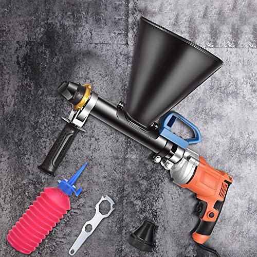 Vogvigo 700W Jointoyeuse, Professionnelle Applicateur Rapide de Joint Mortier, Pistolet Ciment pour la Construction de Bâtiments et la Décoration de la Maison
