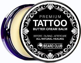 Bálsamo Premium Crema de Manteca Para el Cuidado de Los Tatuajes | Cuidado Natural Para Antes Durante y Después de un Tat...