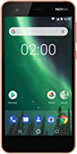 "Nokia 2 - Android - 8GB - Dual SIM Unlocked Smartphone (AT&T/T-Mobile/MetroPCS/Cricket/H2O) - 5"" Screen - Copper - U.S. Wa..."