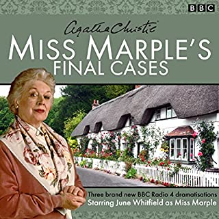 Miss Marple's Final Cases     Three new BBC Radio 4 full-cast dramas              Autor:                                                                                                                                 Agatha Christie                               Sprecher:                                                                                                                                 June Whitfield                      Spieldauer: 1 Std. und 22 Min.     9 Bewertungen     Gesamt 4,9