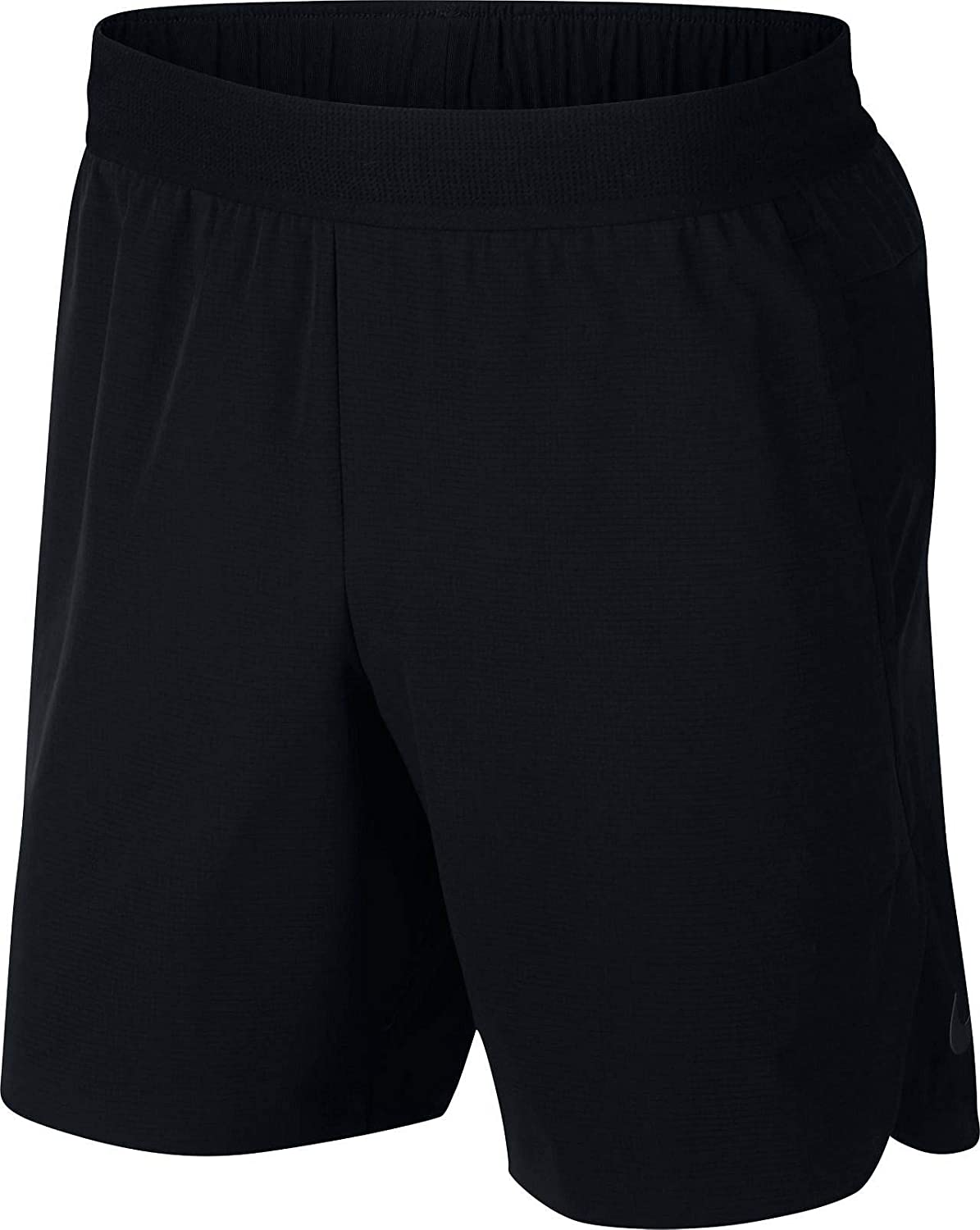 Nike Men's M NK FLX REPEL 4.0 Shorts, Black Metallic Hematite, Large