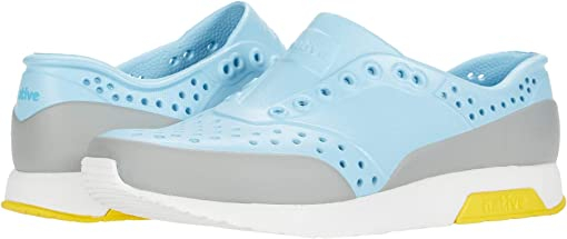 Sky Blue/Shell White/Crayon Yellow/Pigeon Block