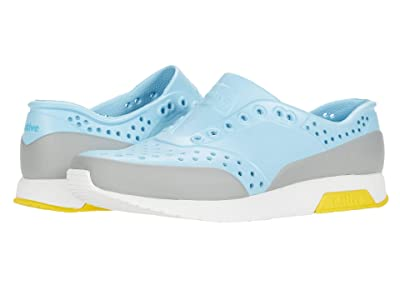 Native Kids Shoes Lennox Block (Little Kid) (Sky Blue/Shell White/Crayon Yellow/Pigeon Block) Boy