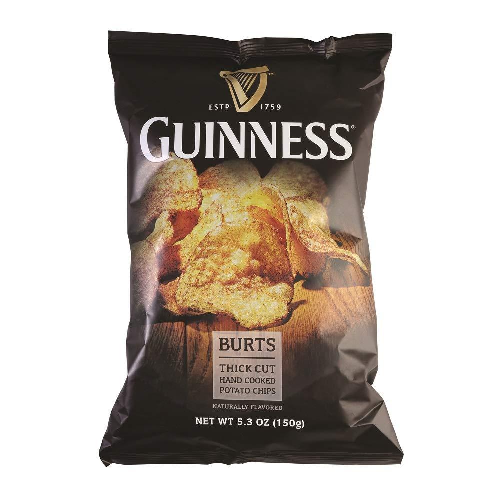 Burt's Guinness Original Thick Cut Manufacturer regenerated Max 57% OFF product Potato Chips Ounce 5.3