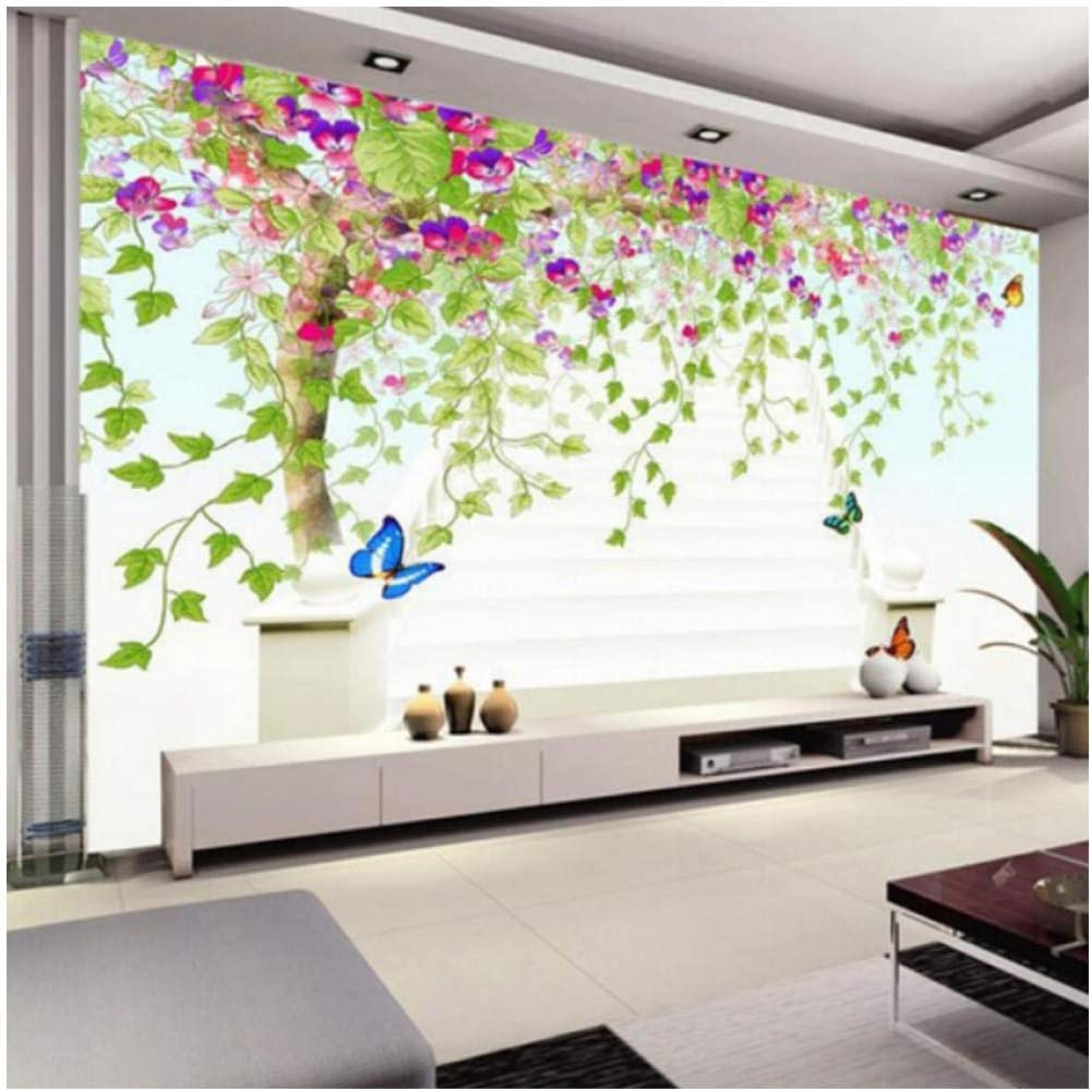 xbwy 3D Colorful Wall Paper Custom Abstract Size Green Tree Ranking TOP4 El Paso Mall Any