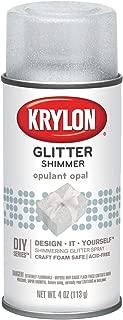 Krylon I00407000 Opulent Opal Glitter Shimmer Spray, 4 ounces