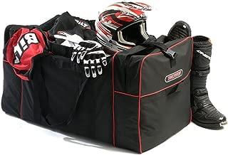Trackside Max Capacity Luggage Dirt Bike Boots Helmet 3 Feet Long Extra Large Motocross Motorcycle Gear Bag - Black