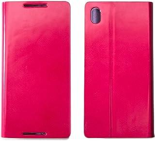 Xperia Z4 SO-03G / SOV31 / 402SO レザー ケース zenus Diana Diary ピンク 手帳型 FM6444XZ4S