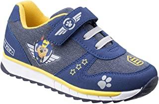 Leomil Childrens Boys Chase Touch Fastening Paw Patrol Trainers