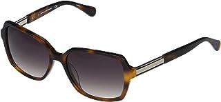 نظارة شمسية للنساء من دي في اف - طراز Dvf648S، بيكي-5516 240، بحجم 135 ملم، باللون الرمادي