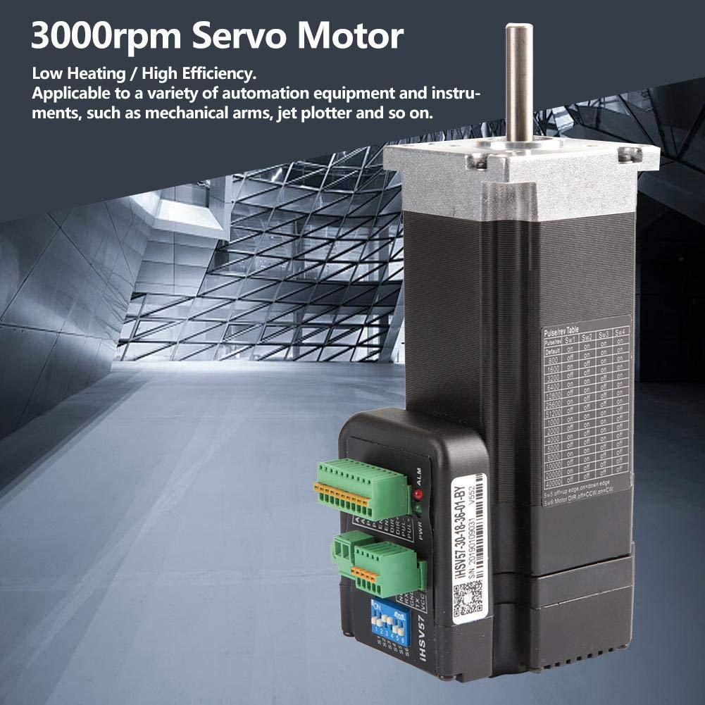 Servomotor integrado, 180W 3000rpm 0.6Nm Servomotor integrado DC36V IHSV57-30-18-36: Amazon.es: Bricolaje y herramientas