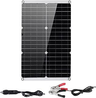 Frieed Chargeur de Panneau Solaire Mono Dual USB Monocristaline Contrôleur Solaire Pliable Banque de Puissance Bivoulage e...