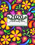2020 12-Month Floral Weekly Planner Organizer: 12 Month Yearly Planner Monthly Calendar Agenda Schedule Organizer with Federal Holidays Contact Names ... Goals (2020 full 1 Year Weekly Planner)