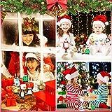 TANCUDER 8 Stücke Kinder Aufziehspielzeug Weihnachten Uhrwerk Spielzeug ABS Weihnachten Aufziehspielzeug Wind Up Figur Aufziehfigur Weihnachten Deko Figuren für Kinder - 6
