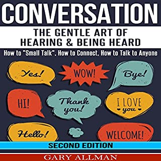 Conversation audiobook cover art