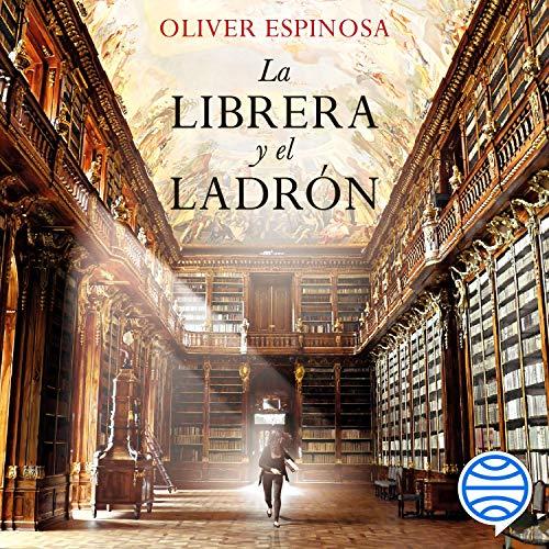 Diseño de la portada del título La librera y el ladrón