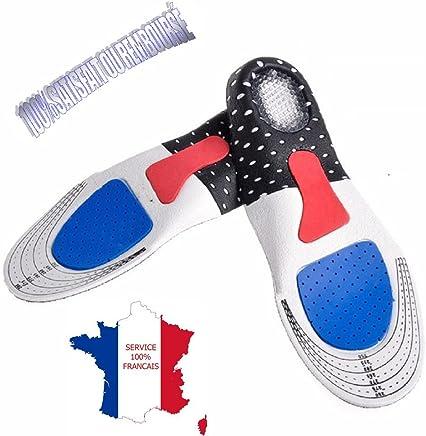 6116202b03f283 KWIM'S France ❤ SEMELLES ORTHOPÉDIQUE, SEMELLE GEL ACTIV SPORT - SEMELLE  CHAUSSURE - Sport Amorti